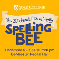 York College Musical Theatre Production: The 25th Annual Putnam County Spelling Bee