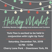 Holiday Market in Cherry Lane Park