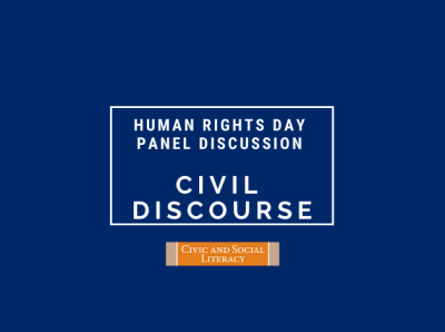 Civil Discourse Panel Discussion | Paul Smith Library