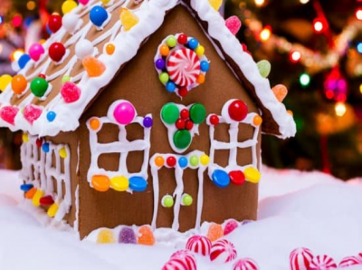 Gingerbread House Festival   Paul Smith Library of...