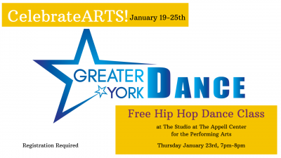 Family Hip Hop Class with Greater York Dance