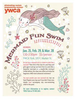 POSTPONED YWCA York Mermaid Fun Swim