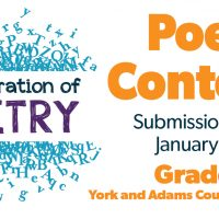 A Celebration of Poetry Contest, grades 1 -12 | York County Libraries