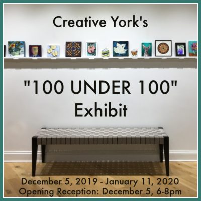 100 Under 100 Exhibit at Creative York