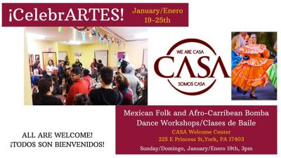 CelebrateARTS! Latino Dance Workshop and Celebrati...