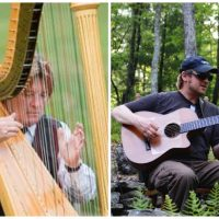 Live at Vix: Lynch & Graham, Harp & Guitar Duo