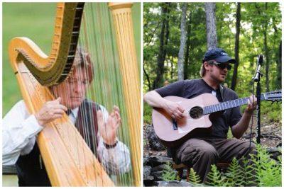 Live at Vix: Lynch & Graham, Harp & Guitar...