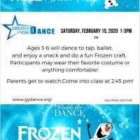 Greater York Dance Frozen Dance Party