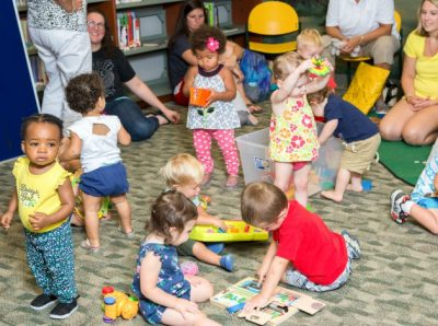 CANCELLED THROUGH APRIL 30TH Toddler Literacy Clas...