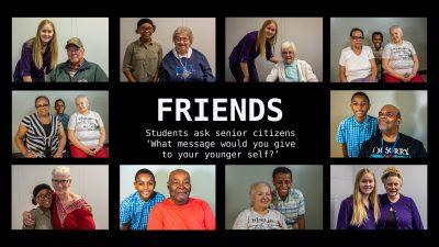 York Student Journalists Interview Senior Citizens...