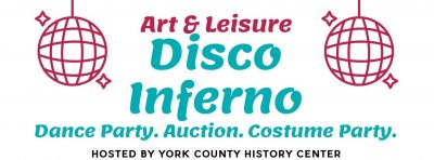 New Date! Art & Leisure Auction: Disco Inferno