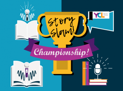 SummerQuest 2020 Teen Story Slam Championship, ages 13 -18 | YCL Libraries @ Martin Library
