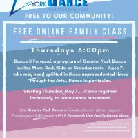 Free Online Family Dance Class