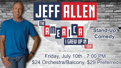Jeff Allen - Stand Up Comedy