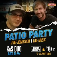 York Revolution Patio Party with KnS Duo
