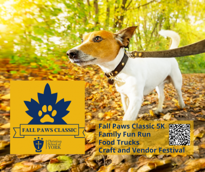 Christian School of York's 5K Fall Paws Classic