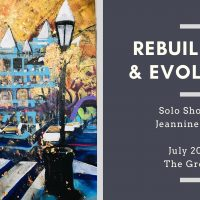 Rebuilding and Evolving: Solo Show by Jeannine Dabb