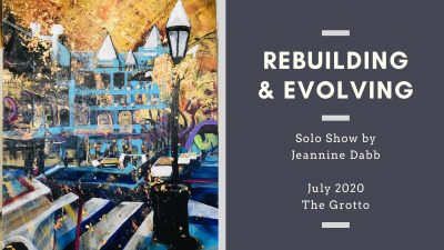 Rebuilding and Evolving: Solo Show by Jeannine Dab...