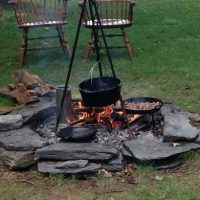 Open Fire Cooking Demonstration