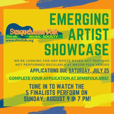 Virtual Emerging Artist Showcase