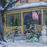 ON-LINE ART CLASS: Intermediate Level Watercolor Class