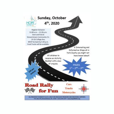 H.O.P.E.'s Road Rally for FUN!!!