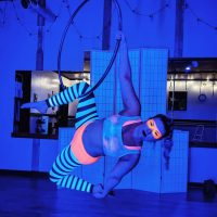 SOLD OUT - Blacklight Aerial Hoop Class