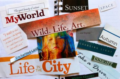 "Art with Me Online: ""The World I Love"" Collage..."