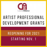 Online Information Session for Artist Grants