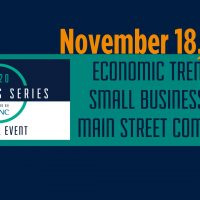 Business Series Workshop: Economic Trends for Small Businesses and Main Street Communities