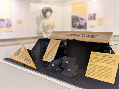 Justice Bell and Women's Suffrage Temporary Exhibi...