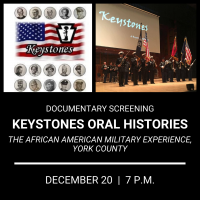 Keystones Oral Histories: The African American Military Experience, York County
