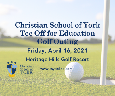 Christian School of York Tee Off for Education Gol...