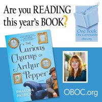 "The State Library of PA presents Author Phaedra Patrick and ""The Curious Charms of Arthur Pepper"""