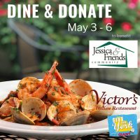 Dine and Donate to Benefit Jessica & Friends Community