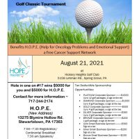 13th Annual Take A Swing At CANCER Golf Classic Tournament