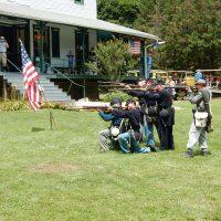 Civil War Encampment at Ma & Pa Railroad