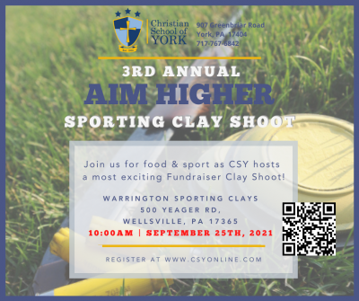 CSY's 3rd Annual Aim Higher Sporting Clay Shoot
