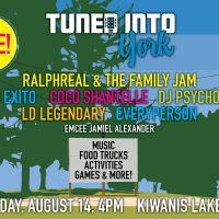 Tuned Into York - Free Concert At Kiwanis Lake Park
