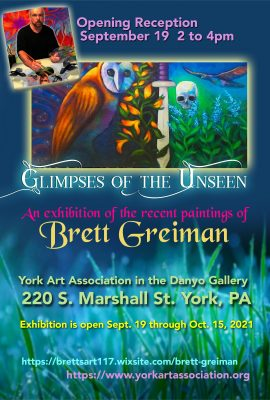 """""""Glimpses Of The Unseen"""" An exhibition of the rece..."""