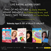"""August """"Mystery At the Library"""" Virtual Author Panel!"""