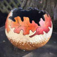 Mini Fall Gourd Leaf Bowl Class