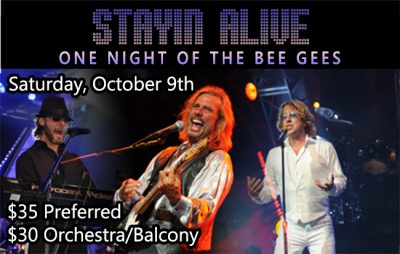 Stayin Alive – One Night of the Bee Gees