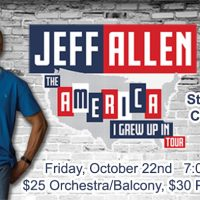 Jeff Allen – Stand Up Comedy