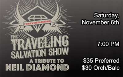 The Travelling Salvation Show – A Tribute to Neil Diamond