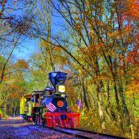Fall Foliage Glen Rock Express with No. 17
